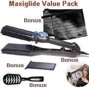 Maxiglide Maxius Hair Straightener Irons